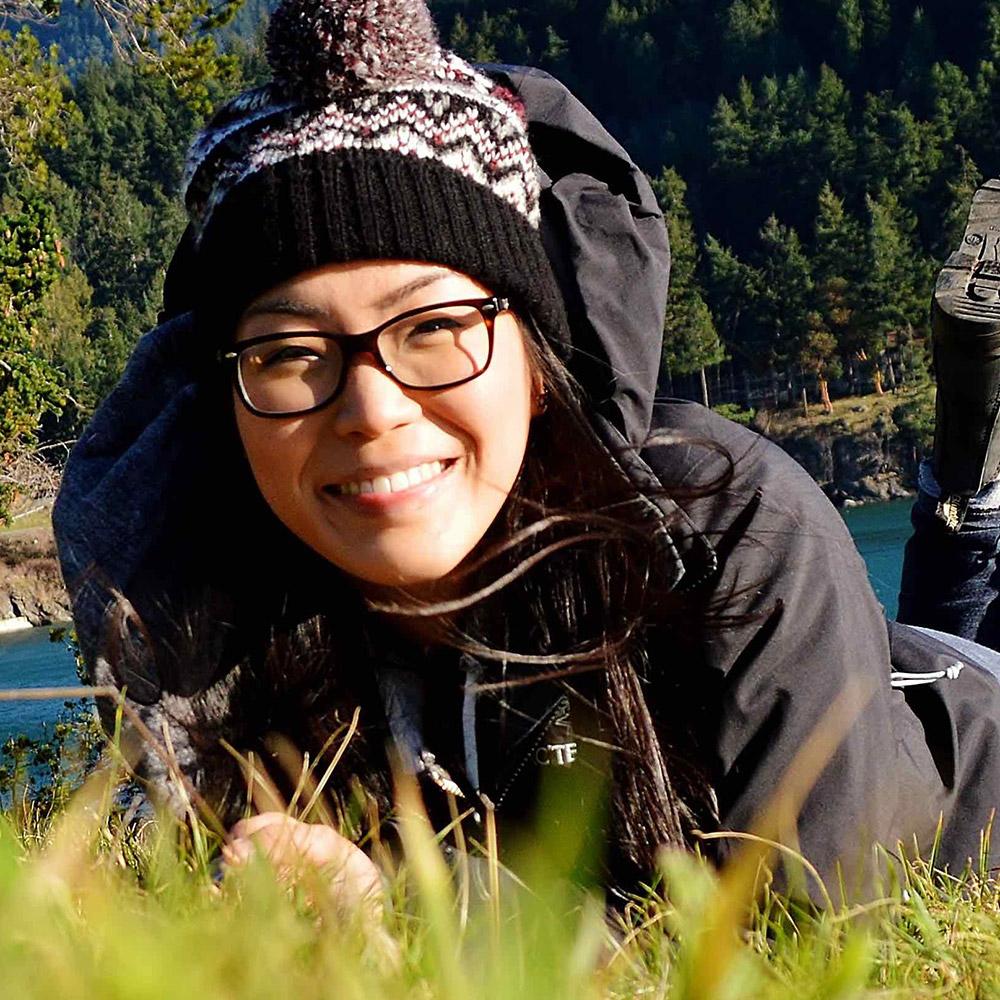 Elvina Leung from UBC Okanagan